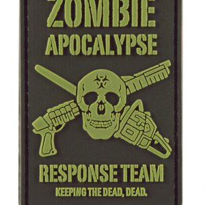 Foam Dart Thunder Zombie Patch Dead