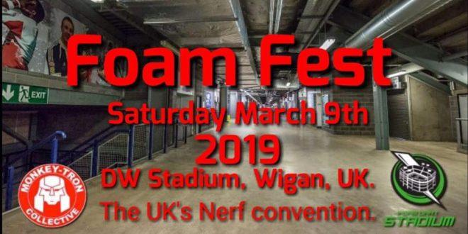 Foam Dart Thunder Foam Fest 2019
