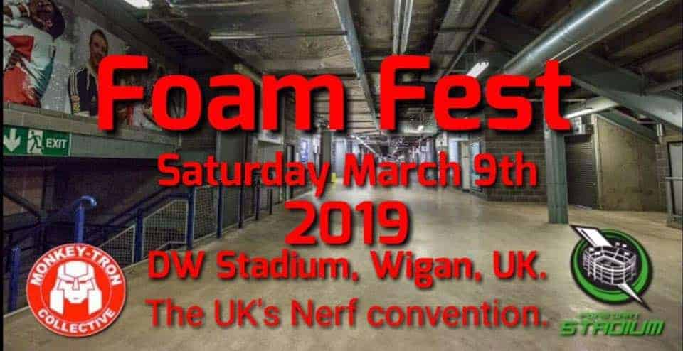 FOAM FEST – the UK's first ever Nerf Convention!