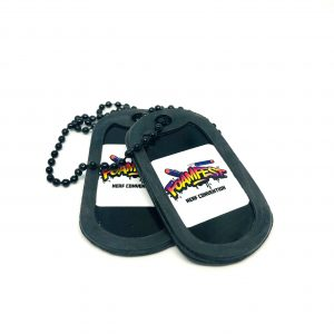 Foam Fest Dog Tags